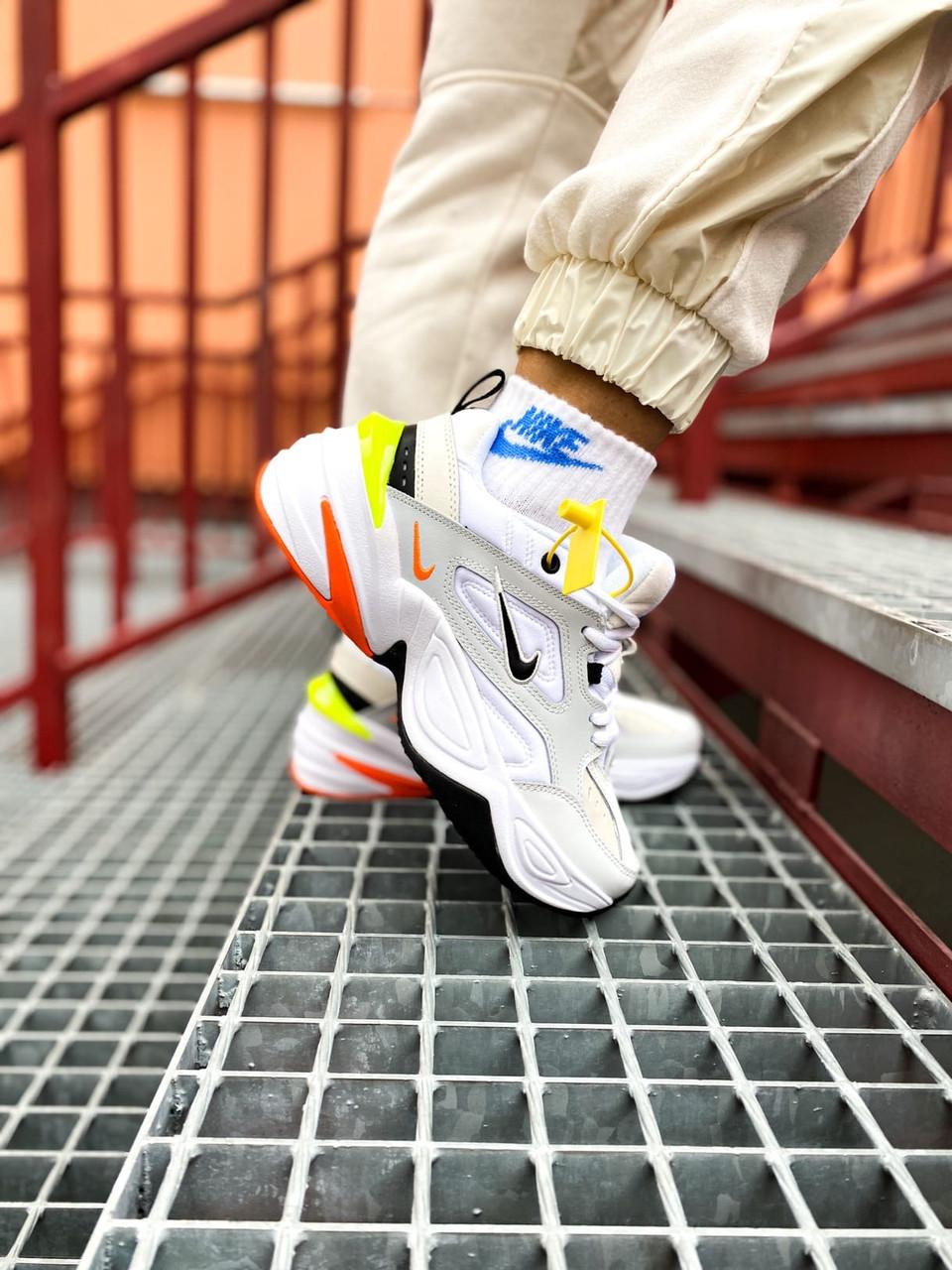 Женские белые Кроссовки Nike M2K Tekno