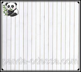 "Бамбуковые обои ""Белые"" 2,5 м, ширина планки 17 мм / Бамбукові шпалери"