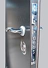 Двері вуличні Антик сірий аверс, фото 3