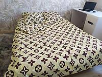 Комплект постельного белья Евро размера Луи Виттон