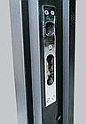 Двери уличные Антик серый КАЛЕ + нержавеющий порог, фото 3