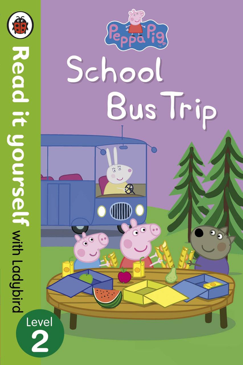 Peppa Pig. School Bus Trip