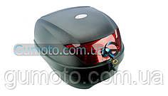 Кофр для мотоцикла (багажник) YM-0807 (V-28L) 39.5×39.5×30