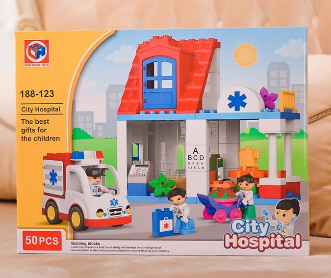 Конструктор Госпіталь 50 деталей Kids Home Toys 188-123