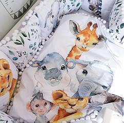 Дитячий комплект в ліжечко