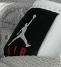 Мужские кроссовки Nike Air Jordan (бело-серые) В10255 демисезонная спортивная высокая обувь, фото 4