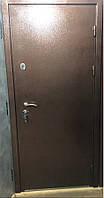 Двери уличные Антик медь КАЛЕ + нержавеющий порог