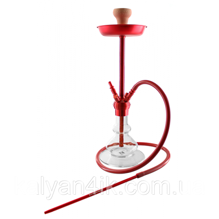 Кальян Kaya ELOX 580 Clear Carbon Red 4S