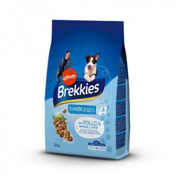 Сухой корм Brekkies Dog Junior 3 кг. для щенков и молодых собак