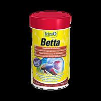 Корм для аквариумных рыб Tetra BETTA 100 мл хлопья для петушков и бойцовских рыб (129108)
