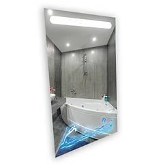 """Зеркало LED (60*80*2,5см) """"ДЕЛЬФИНЫ"""" VZ-AL-D51 с сенсором"""