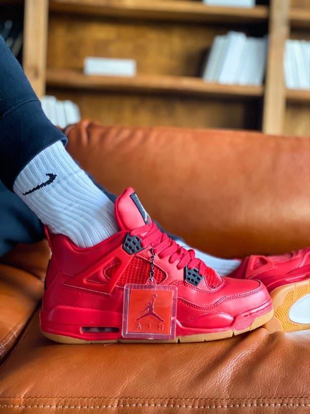 """Баскетбольні кросівки Off-White x Air Jordan 4 """"Sail"""""""