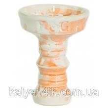 Чаша Fog Sakura Full-Glazed Бело - Персиковая