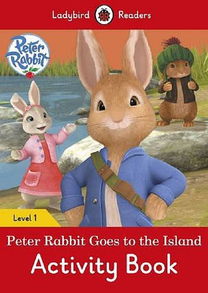 Peter Rabbit: Goes to the Island Activity Book. Ladybird Readers Level 1, фото 2