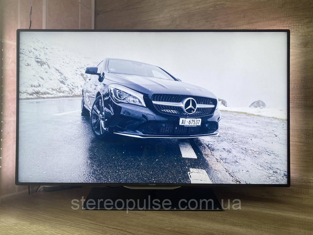 """LED телевізор 46"""" Philips 46PFL8007Т/12 (Full HD, WiFi, 3D, USB)"""