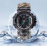 Многофункциональные тактические часы 7 в 1 YUZEX черный код 17-0000, фото 2