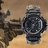 Многофункциональные тактические часы 7 в 1 YUZEX черный код 17-0000, фото 3