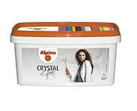 """Лазурь """"бриллиантовый блеск"""" ALPINA EFFEKT CRYSTAL, серебристая, 1л"""