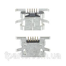 Коннектор зарядки Sony C1904, C1905, C2004,C2005, Nomi i507, Doogee X5, X20, Bravis A503