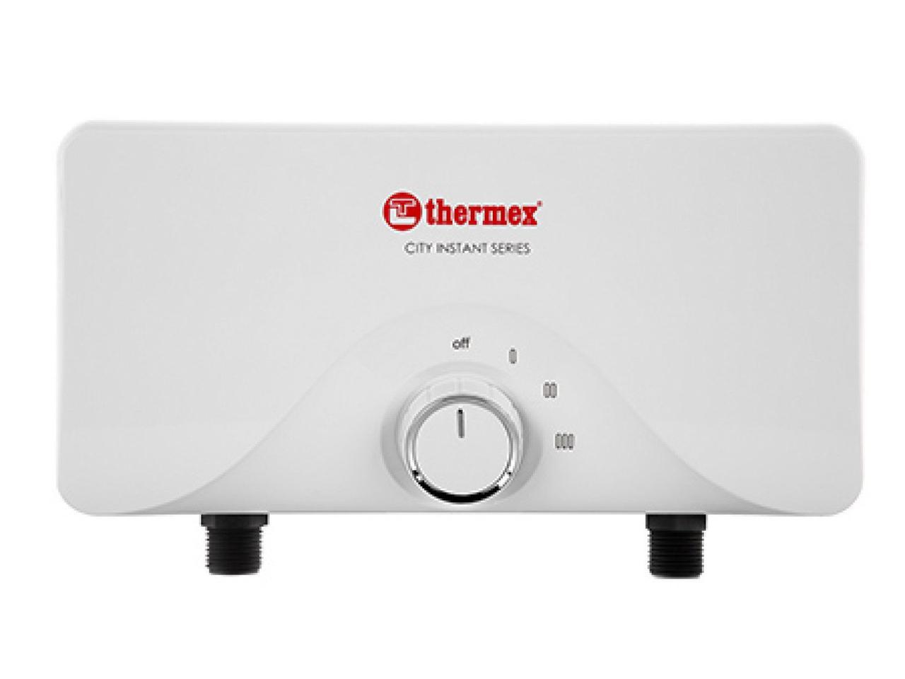 Електричні проточні водонагрівачі Thermex City 6500