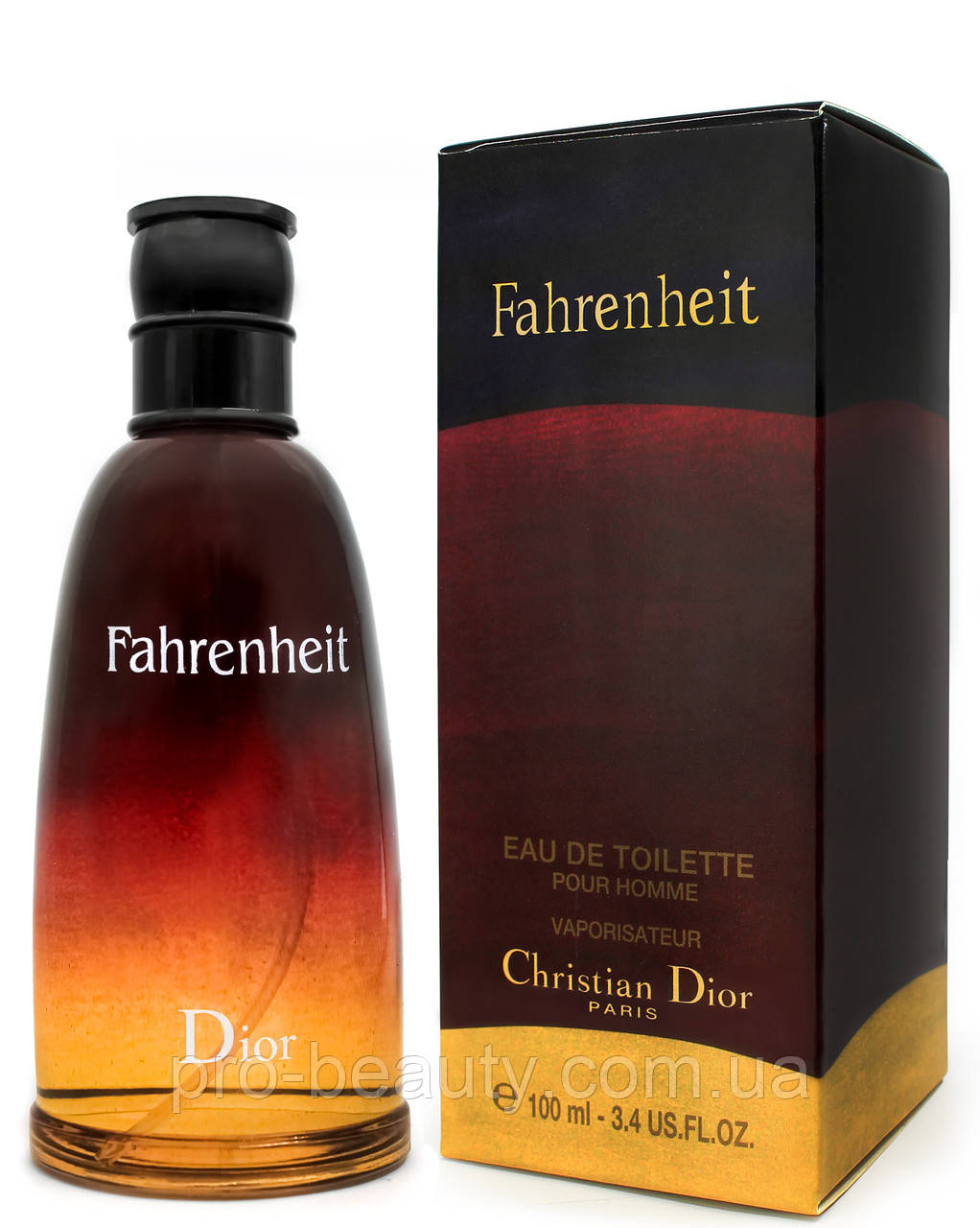 Туалетная вода мужская Christian Dior Fahrenheit, 100 мл.