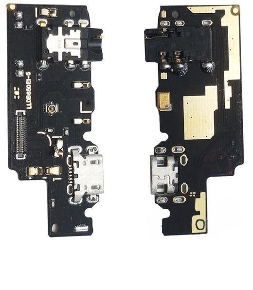 Шлейф Xiaomi Redmi Note 5 нижня плата з роз'ємом зарядки, навушників і мікрофоном Original