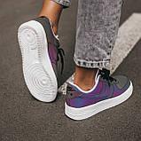 Женские кроссовки Nike Air Force low (chameleon) Реплика ААА, фото 8