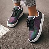 Женские кроссовки Nike Air Force low (chameleon) Реплика ААА, фото 4