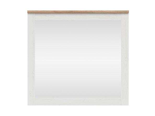Зеркало LUS/96 LOKSA BRW белая сосна андерсен/дуб