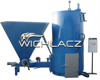 Парогенератор твердотопливный с автоматической подачей Wichlacz WP R 500 кВт