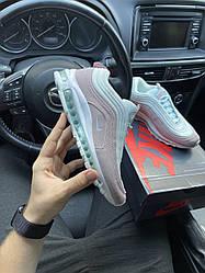 Женские кроссовки Air Max 97 Pink White (розовые)