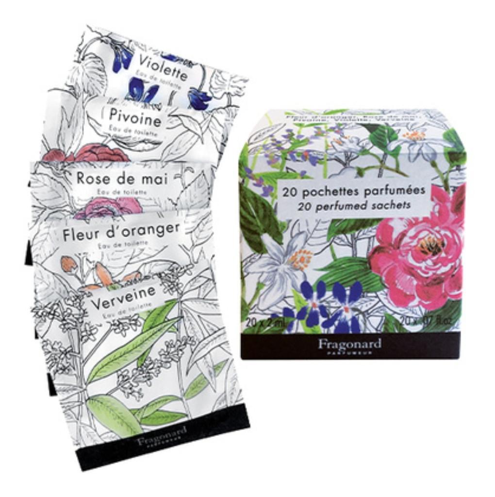 Набір 20 парфумованих серветок Fragonard