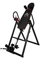 Інверсійний стіл WCG-108 тренажер для спини і хребта (Інверсійний стіл механічний складаний до 120 кг)