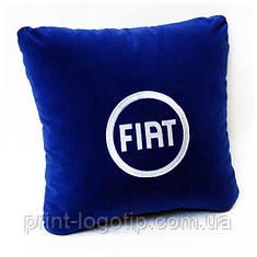 Автомобильные  подушки с логотипом пошив назаказ