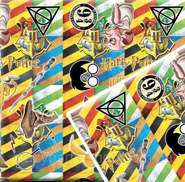 Упаковочная бумага для подарков  Гарри Поттер