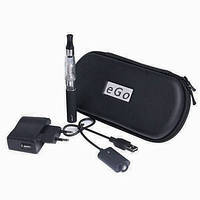 Электронная сигарета eGo CE4 в чехле + жидкость 10 мл., фото 1