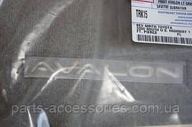Toyota Avalon 2006-12 велюрові килимки сірі передні задні нові оригінал