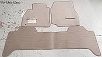 Комплект велюровых ковриков для Toyota Land Cruiser 200 2008-12 новые оригинальные
