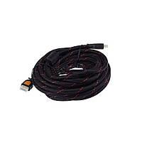 HDMI кабель 20м в оплетке папа-папа v1.4 позолоченные коннекторы