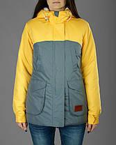 Женская зимняя теплая парка Olymp с капюшоном. Модная зимняя женская теплая куртка с капюшоном., фото 3