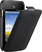 Чехол для Fly IQ239 - Fly Flip PU leather, черный