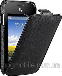 Чехол для Fly IQ239 - Fly Flip PU leather, черный