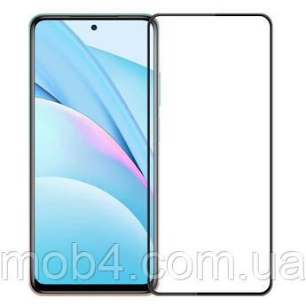 Защитное стекло для Xiaomi (Ксиоми) Mi 10T Lite (на весь экран)