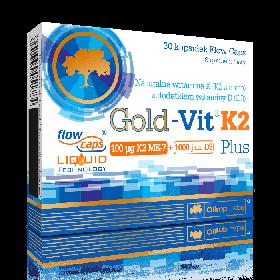 Вітамін К-2 OLIMP Gold Vit K2 Plus (30 кап) олімп