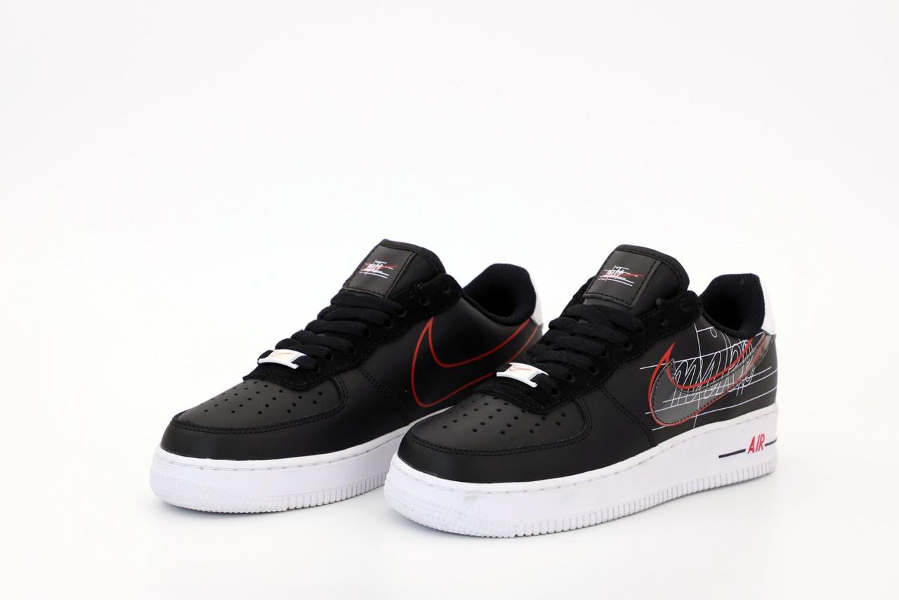 Жіночі чорні Кросівки Nike Air Force 1