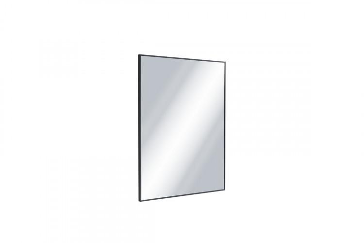Зеркало прямокутне 80x60 чорний мат