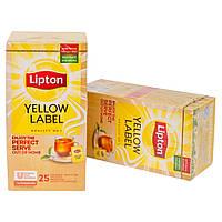 Чай пакетированный Lipton Yellow Label 25 шт