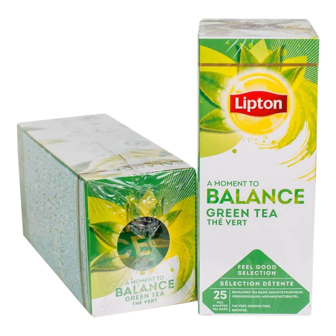 Чай пакетований Lipton Green Tea (Зелений чай) 25 шт
