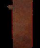 Надгробие из металла Христианство 09 Сталь Сorten 6 мм