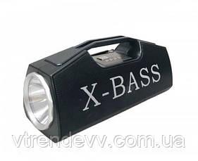 Колонка Golon RX-BT160 FM/USB/BT с LED фонарем и подставкой  для телефона